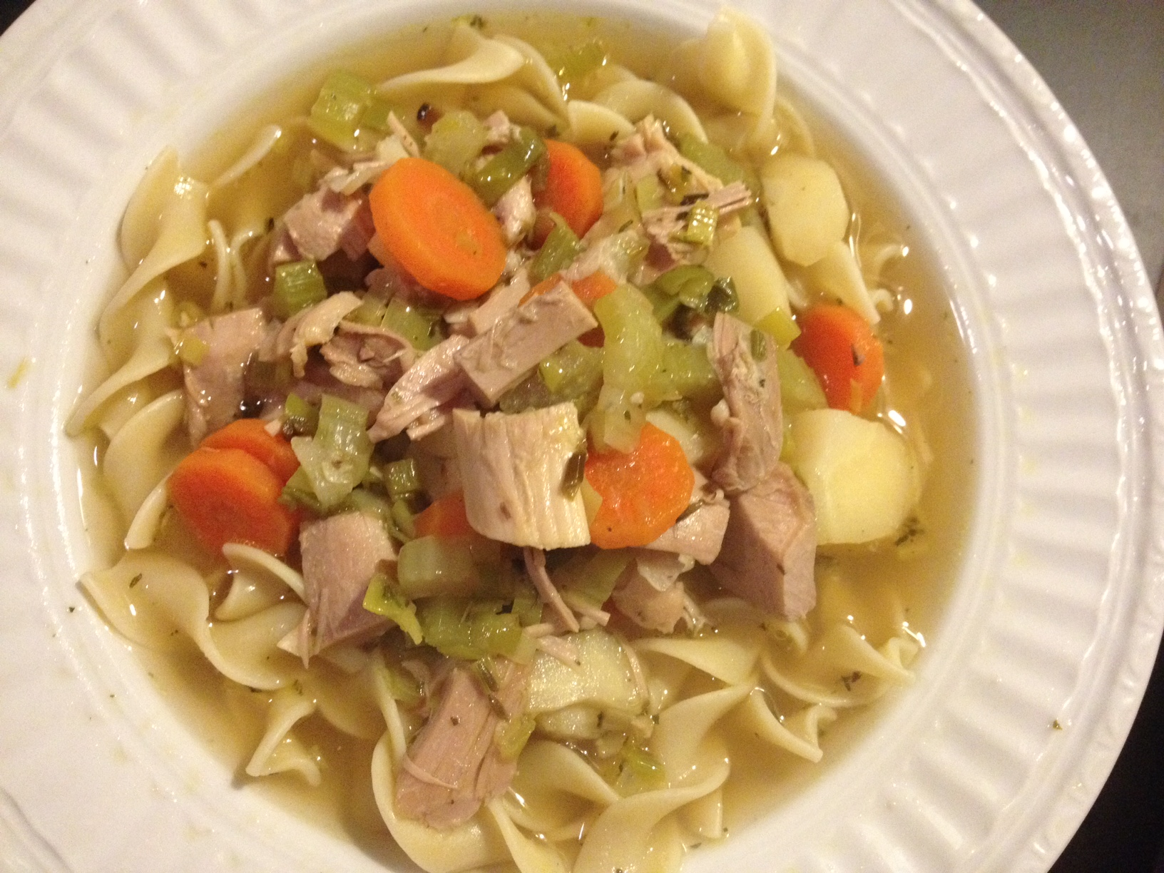 Easy Turkey Noodle Soup