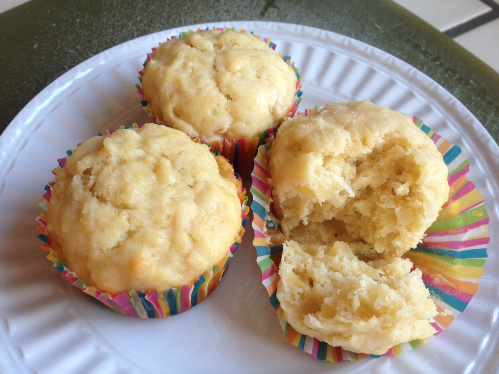 Coconut and Pineapple Muffins | Everyday Sunday Suppers
