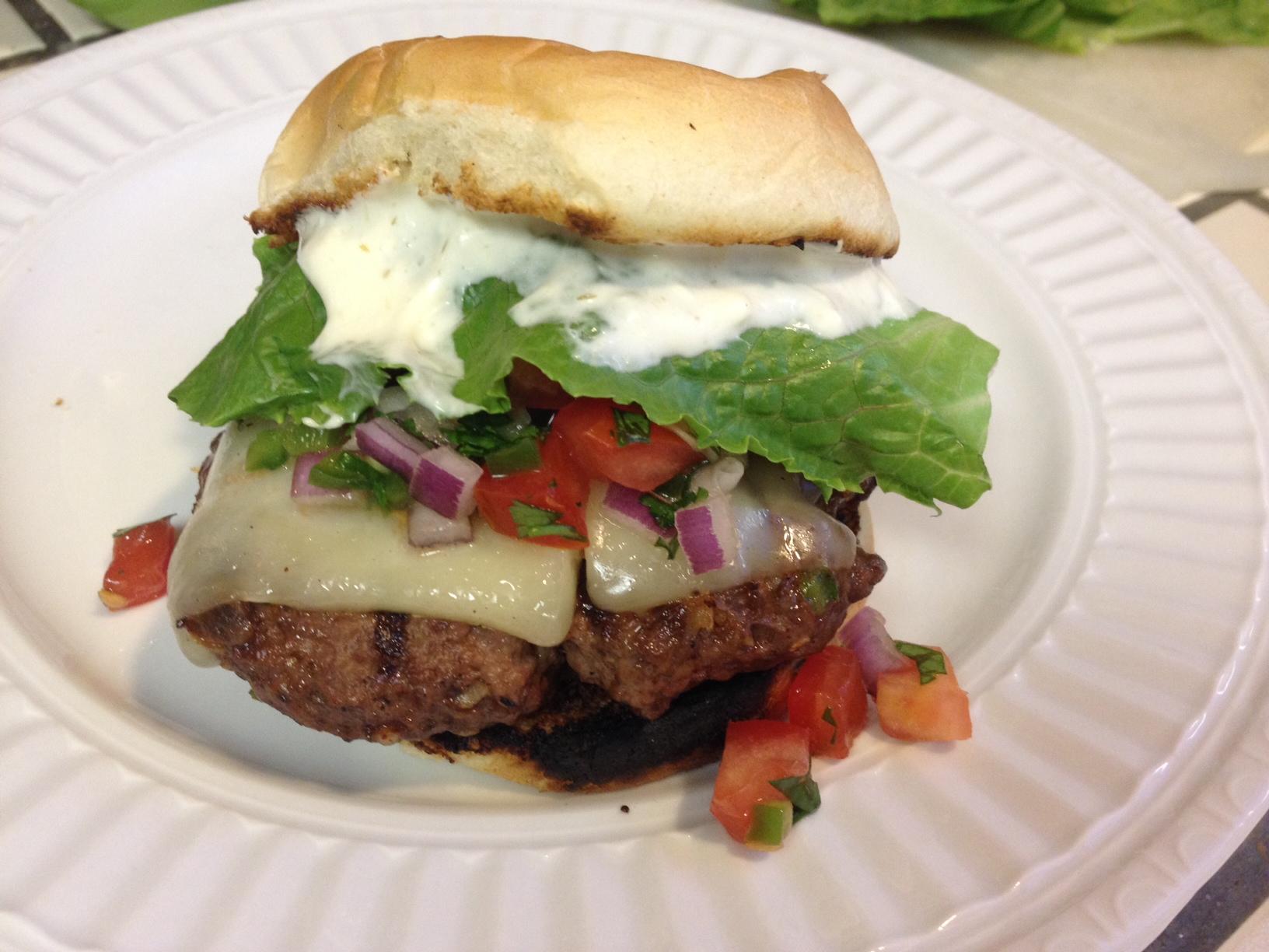 Taco Burger[/caption]